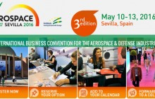 Aerospace 2016. International business convention for the aerospace&defense industries