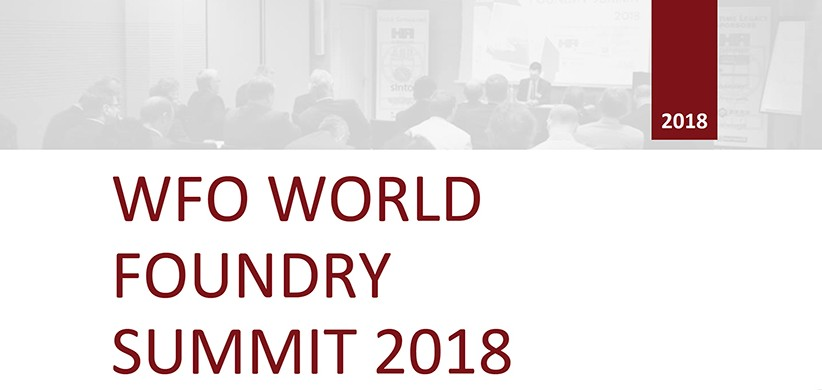 WFO WORLD FOUNDRY SUMMIT 2018
