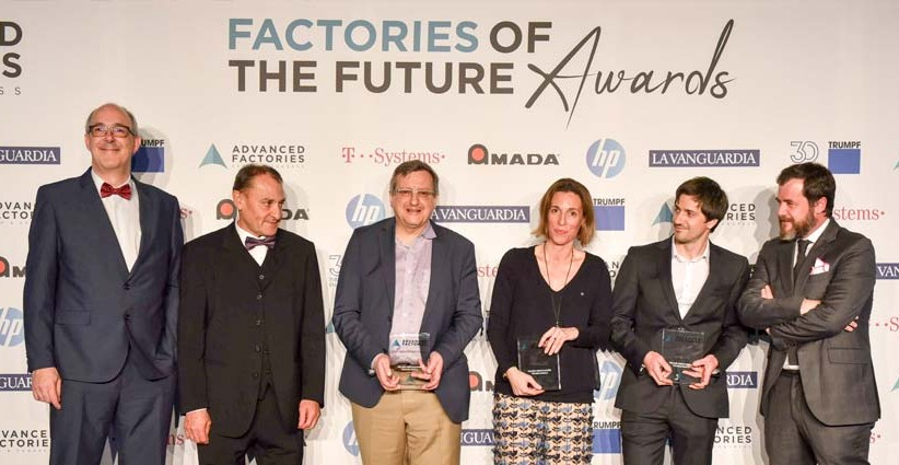 Barcelona acoge los Factories of the Future Awards 2019