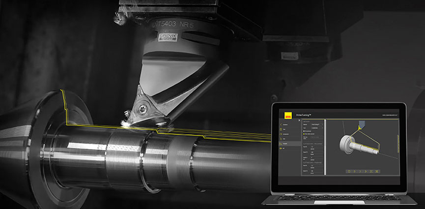 software CoroPlus® ToolPath para PrimeTurning™ actualizado