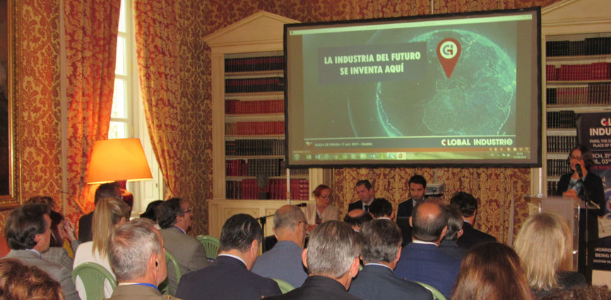 presentacion GLOBAL INDUSTRIE Madrid