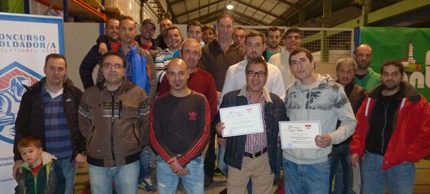 La Fundación Laboral del Metal premia a los mejores soldadores de Cantabria