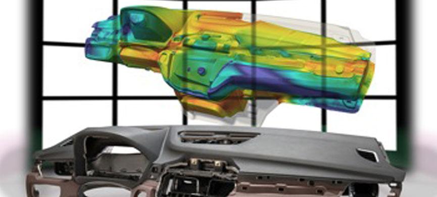 Simulación Ultrasim  ®. Simulación del proceso de espumado en interior de vehículos