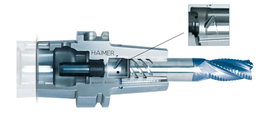 MAPAL muestra su confianza en el sistema Safe-Lock™ de HAIMER