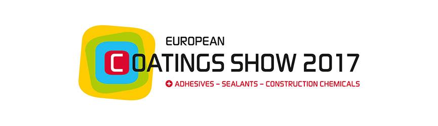 European Coatings Show 2017: ¡Bienvenidos a la feria líder mundial!