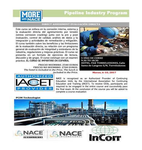 Certificación de NACE