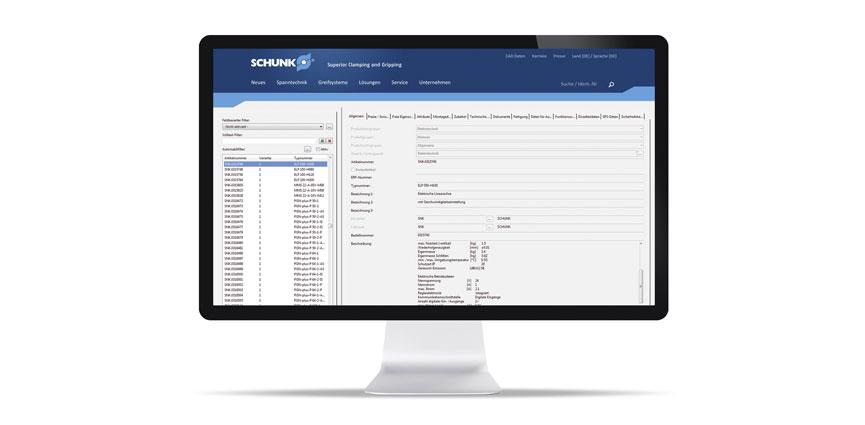 SCHUNK comienza la integración del mayor programa de pinzas en todo el mundo, en el portal de datos EPLAN