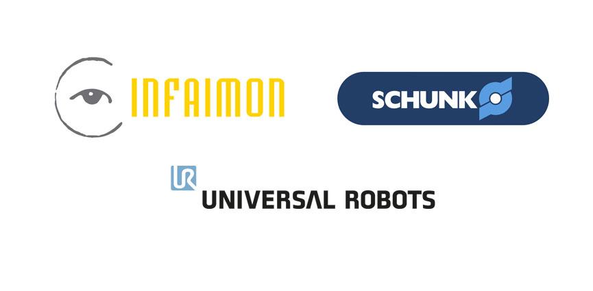 Universal Robots, Schunk e Infaimon  se unen para ofrecer un enfoque práctico de la Automatización 4.0
