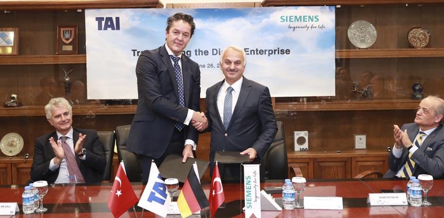 Turkish Aerospace Industries elige Siemens como proveedor líder de tecnología para su transformación digital