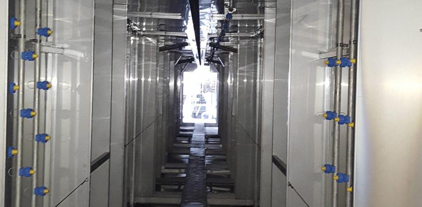 Interior del túnel