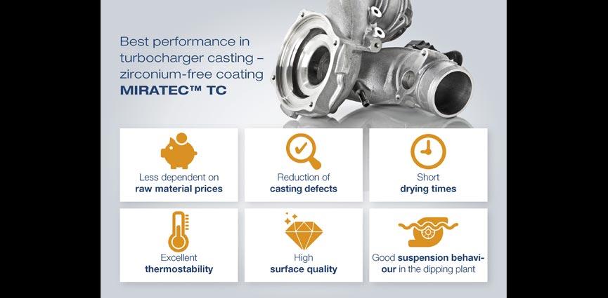 Resultados excepcionales de la tecnología MIRATEC TC en turbocompresores