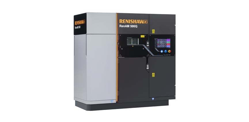 fabricación aditiva metálica Renishaw RenAM 500Q