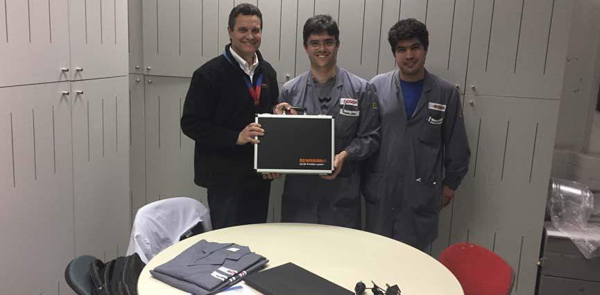 BOSCH Car Multimedia adquiere en su planta de Braga un Ballbar QC20 de Renishaw