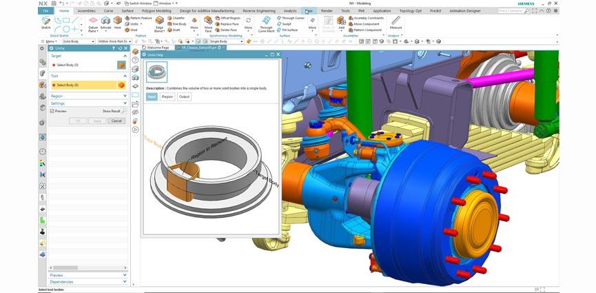 Siemens actualiza el software NX con Inteligencia Artificial y Machine Learning, para aumentar la productividad
