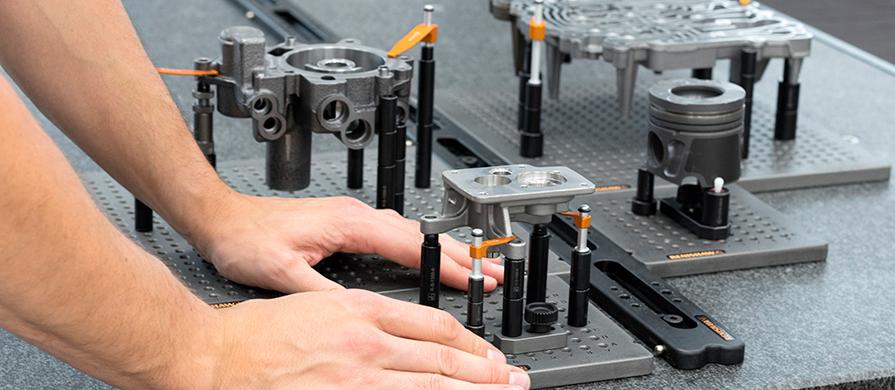 El nuevo sistema de raíl QuickLoad™ aumenta la velocidad, la productividad y la precisión en la inspección de piezas