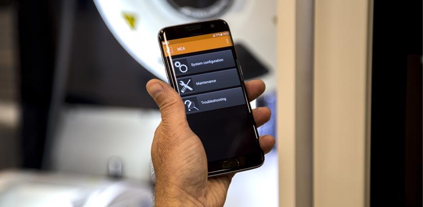 Renishaw lanza la versión 2.1 de su app NC4 para controles CNC