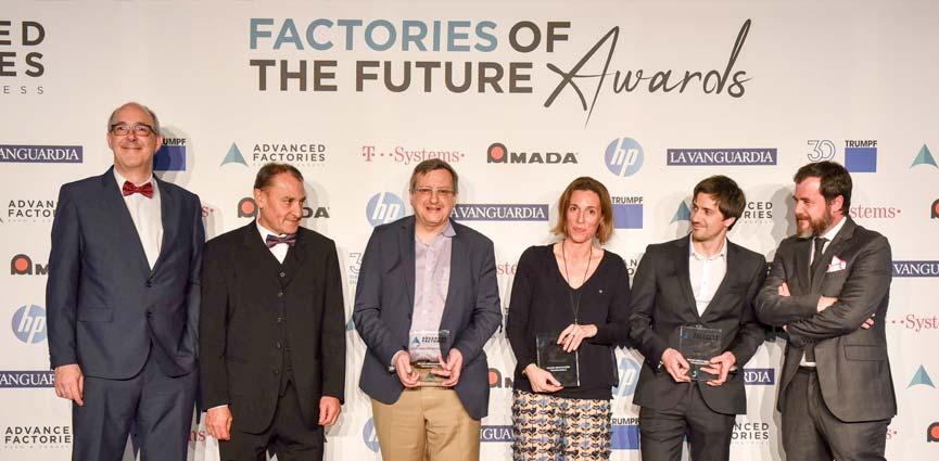 Barcelona acoge los Factories of the Future Awards 2019