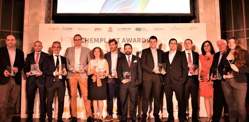 REPSOL, Dow Chemical Ibérica, la Universidad Complutense de Madrid y la Fundación Privada EURECAT, ganadores de la segunda edición de los ChemPlast Awards 2019