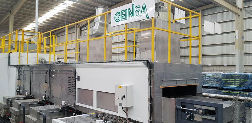 GEINSA suministra una línea de pintura para CIE AMAYA MEX (México)