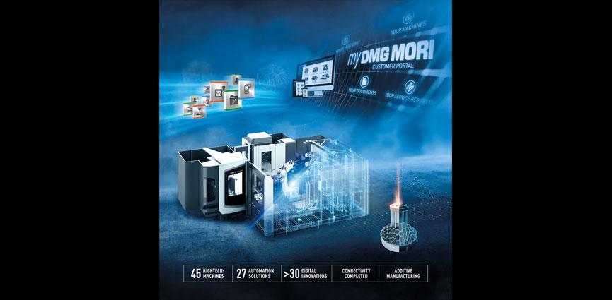 DMG MORI. Automatización y digitalización en el pabellón 2 de la EMO