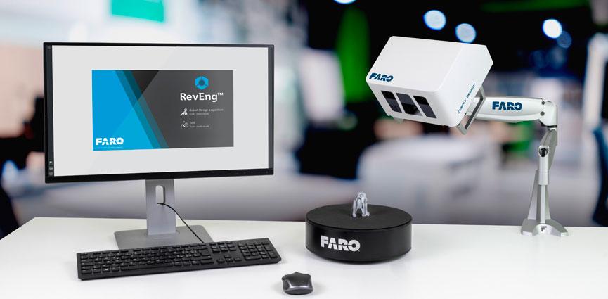 FARO presenta la nueva solución de escaneo 3D Cobalt Design