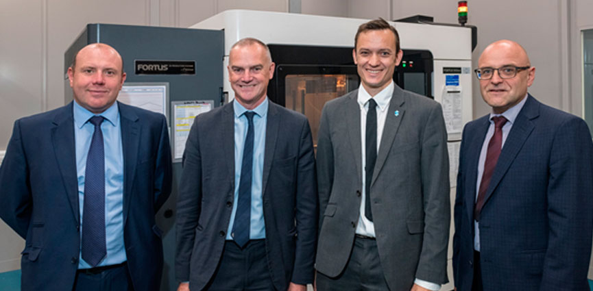 STRATASYS y BAE SYSTEMS aumentan la colaboración en futuras soluciones de fabricación aditiva