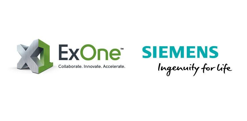 ExOne y Siemens, Partners para llevar la Industria 4.0 a la impresión 3D