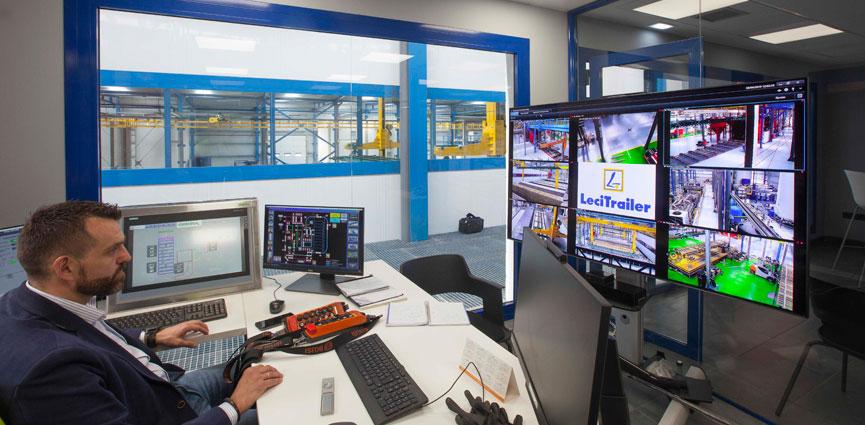 GEINSA suministra la mayor instalación de cataforesis de Europa en la sede de LECITRAILER de Zaragoza