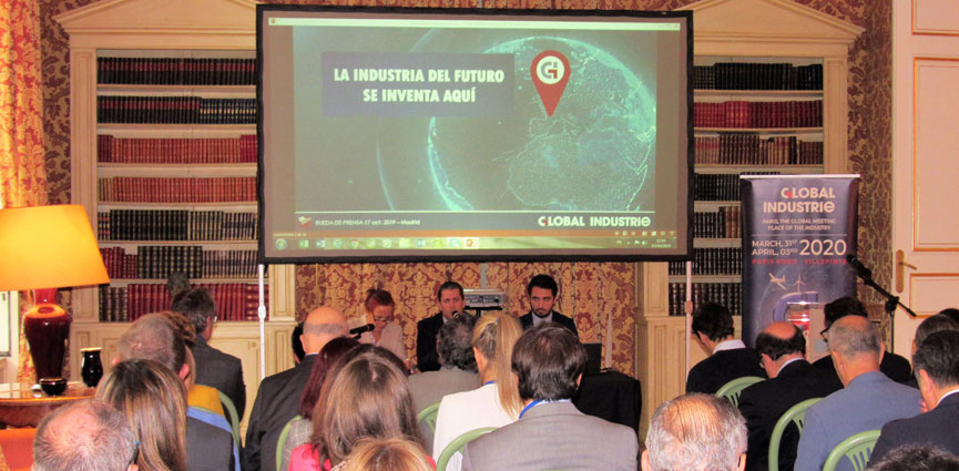presentacion GLOBAL INDUSTRIE Madrid