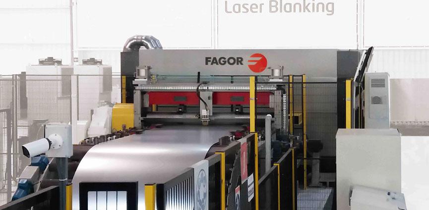 Fagor Arrasate laser blanking