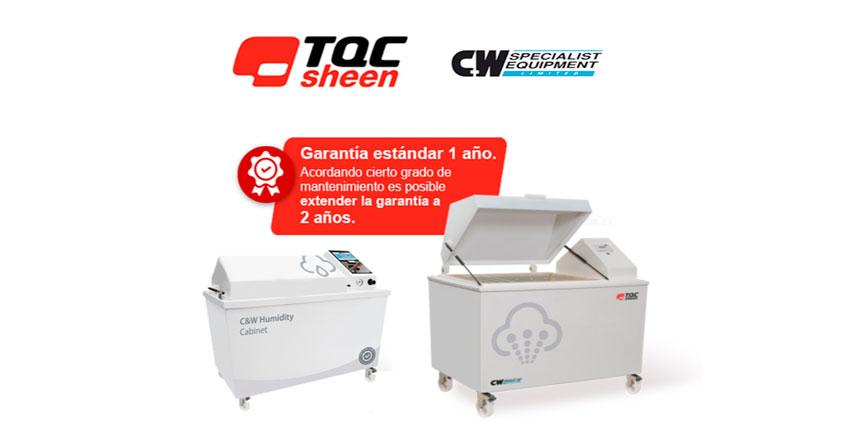 Cabinas para pruebas ambientales C&W