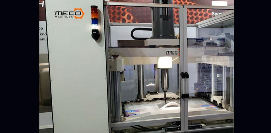 BLECHEXPO. Una tecnología de Eurecat aplica el concepto de fabricación digital a la estampación de chapa
