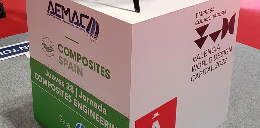 AEMAC reúne al sector de los materiales compuestos en Composites Spain
