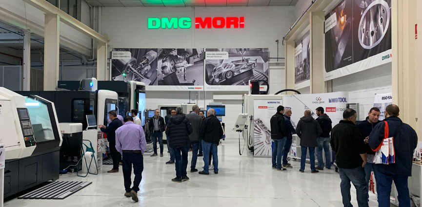 TECHNOLOGY DAYS de DMG MORI IBERICA con GASPA GRANE