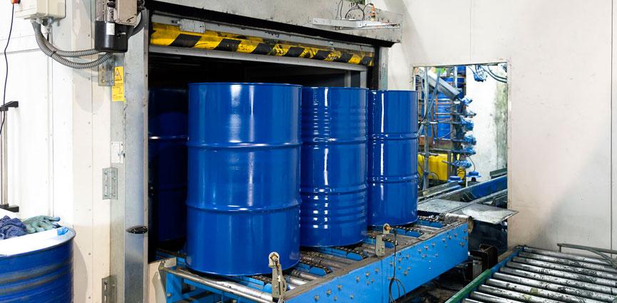 Cabycal sumistra una instalación de pintura líquida automática a Ecobidon