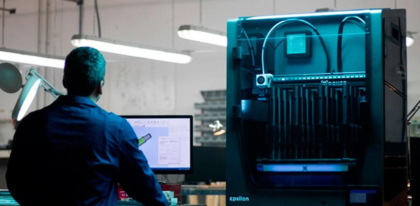 BCN3D presenta en el stand de Sicnova Metalmadrid la impresora 3D BCN3D Epsilon, para empresas y profesionales más exigentes