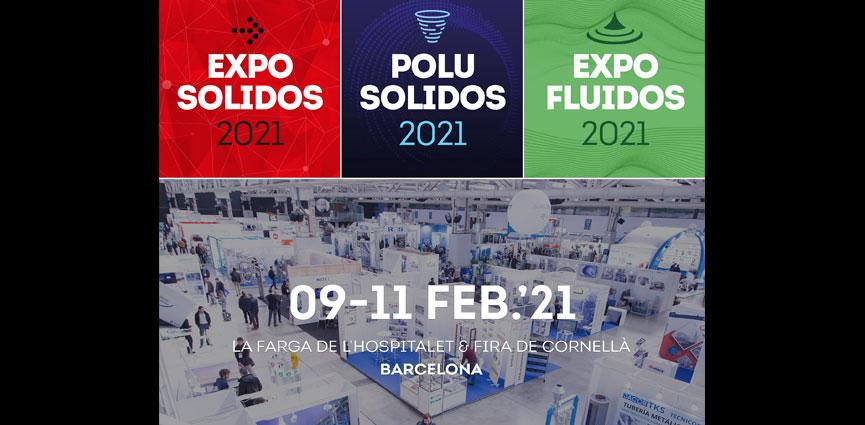 Las empresas confian en el proyecto EXPOSOLIDOS, POLUSOLIDOS Y EXPOFLUIDOS 2021