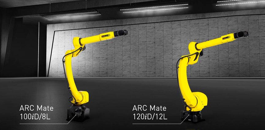FANUC amplía su gama de robots con dos nuevos modelos de soldadura por arco de brazo largo