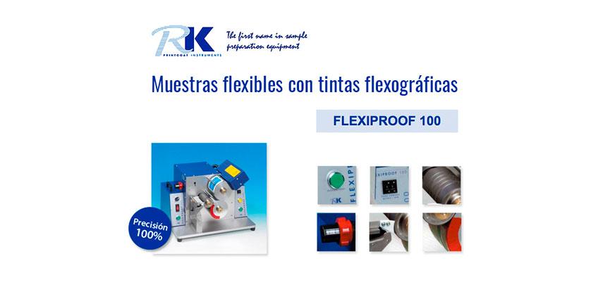 Equipo FLX100 para el ajuste y reproducción de color en muestras flexibles con tintas flexográficas