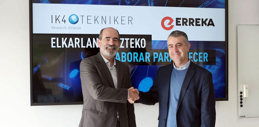 ERREKA y TEKNIKER suman fuerzas en una alianza estratégica para impulsar la I+D+I