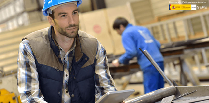 El SEPE apuesta por el sector metal con mas de 2.000 plazas en cursos online 100% subvencionados