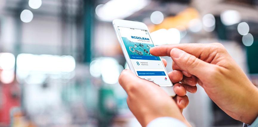 Ecoclean: Una nueva aplicación de servicio optimiza la comunicación