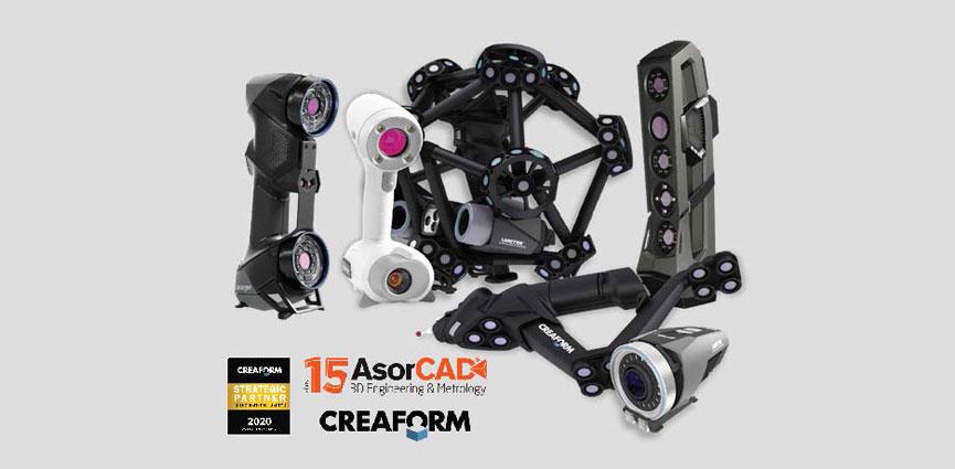 ASORCAD renueva acuerdo de distribución en exclusiva para España de los productos CREAFORM