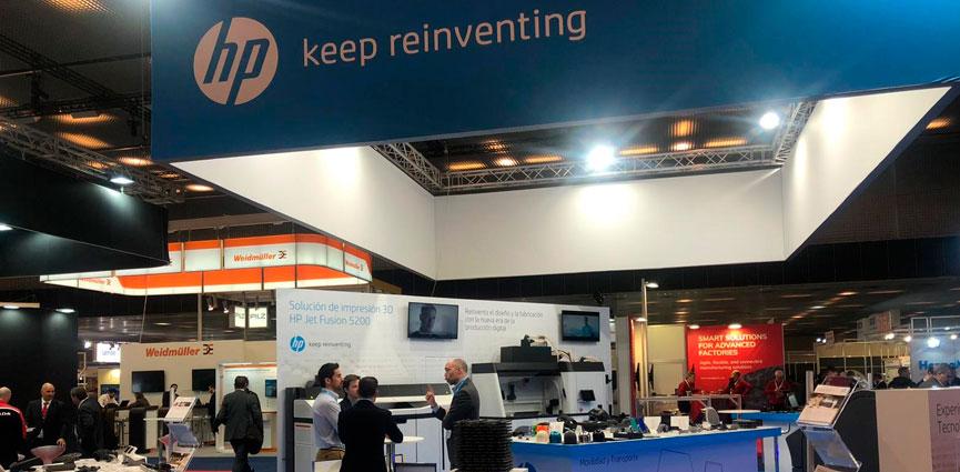 HP despliega su ecosistema para la impresión digital en 3D en Advanced Factories 2020