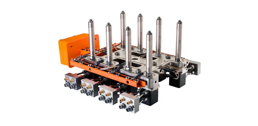 Sistemas de cámara caliente completamente atornillados y cableados H4016