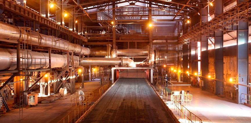 Solución ABB Ability™ Advanced Process Control para el sector del metal.