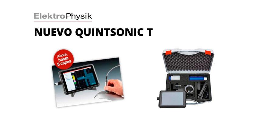 Nuevo medidor de espesor de recubrimientos multicapa QuintSonic T