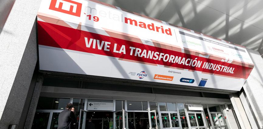 Se abre el plazo de registro para el primer encuentro industrial del año: METALMADRID y COMPOSITES SPAIN