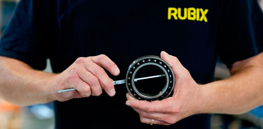 RUBIX ofrece el mayor stock de rodamientos de Europa con disponibilidad inmediata