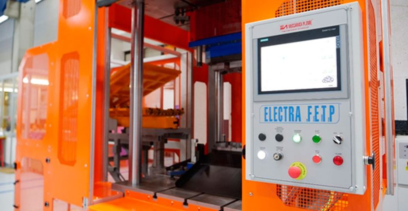 Prensa de corte ELECTRA FETP (Full Electric Trimming Press).